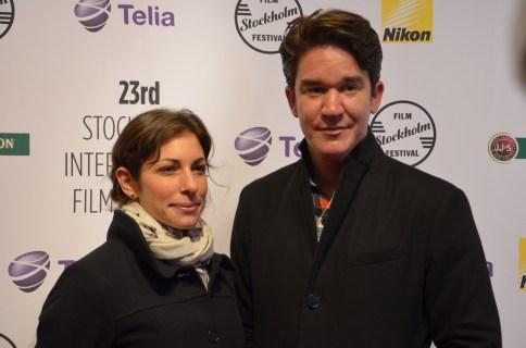 Daniel Espinosa med fru
