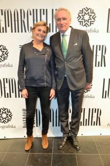 Eva Hamilton och Carl Johan von Heland