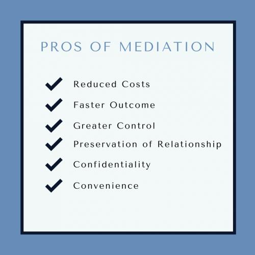 Pros of Mediation