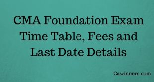 How to Apply For CMA Foundation Exam June 2017