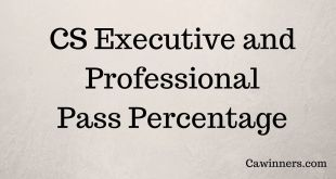 CS Pass Percentage June 2016 Executive Professional
