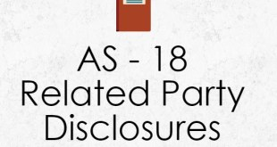 AS 18 Related Party Disclosures Applicability Summary Notes PDF