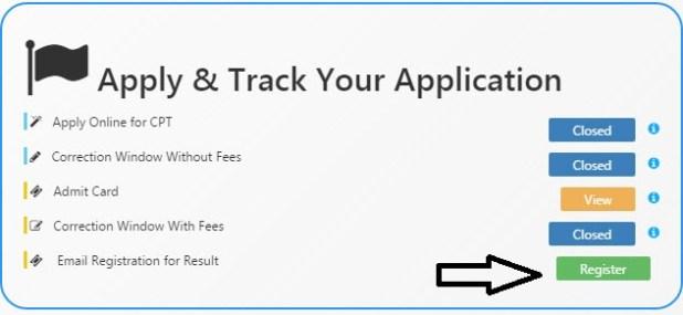 ICAI Result Email Registration