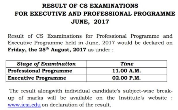 CS Result June 2017