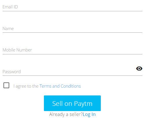 Paytm Seller Registration Procedure
