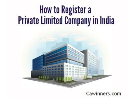 Private Limited Company Registration Procedure in India