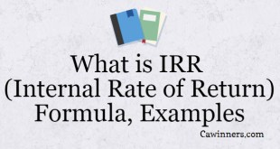 What is IRR (Internal Rate of Return) Formula Examples