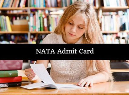 NATA Admit Card 2018