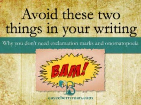 punctuation-exclamation-marks-onomatopoeia-avoid-filler-words