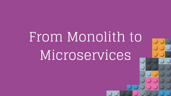 Featured Image Monolith to Microservices