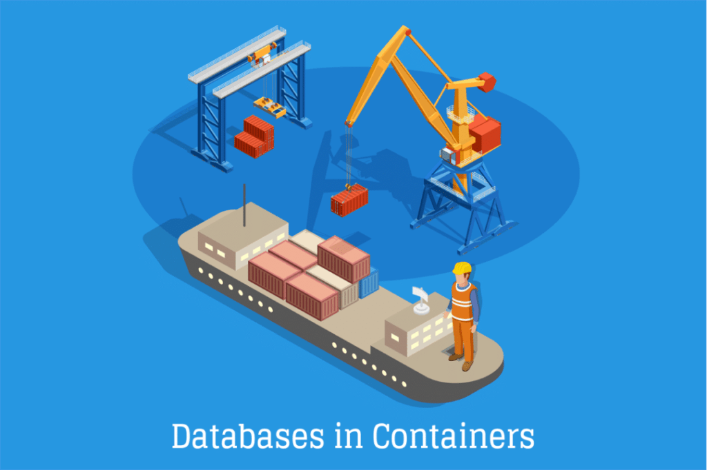 #Databases in #containers
