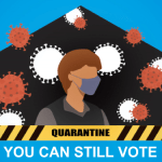 Election officials will visit quarantined voters