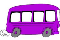 purple bus 300x200