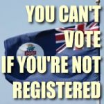 Ten days left to register to vote in 2017