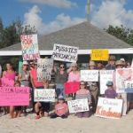 Dozens in Cayman support Women's March