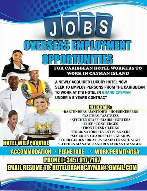 Hotel Jobs In Cayman Islands