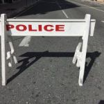 Oil spill blocks road in Prospect