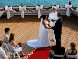 Cruise ship weddings, Cayman News Service