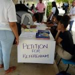 Petition activists warn gov't off signing contracts