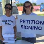Referendum petition goes on the road