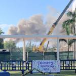 Dump fire stops school sports day