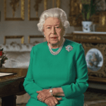 Queen thanks people for staying home