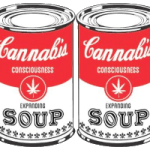 15lbs of ganja found in soup cans