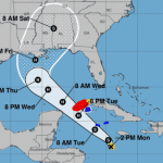 TS Delta rolls towards Cayman with 60mph winds