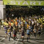 No fans and split start pave the way for marathon