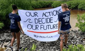 POF activists target reef conservation