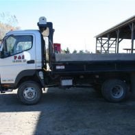 Fuso Truck (#3) Topsoil 3 yards ROC/stone 3 tons Mulch/Compost 5 yards