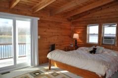 Master Suite, Lakeside Balcony