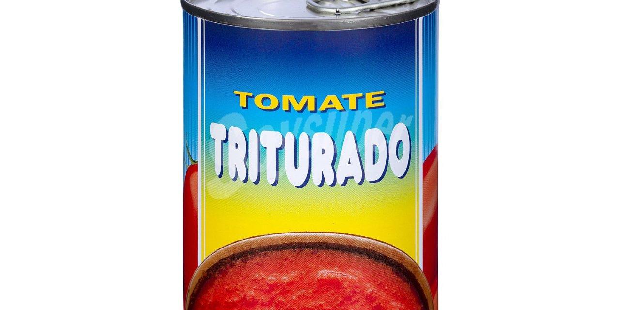 TOMATE NATURAL TRITURADO, HACENDADO