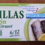 SARDINILLAS LIMÓN ACEITE GIRASOL, HACENDADO