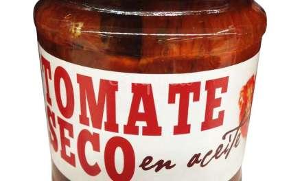 TOMATE SECO EN ACEITE CONDIMENTADO CON ESPECIAS, GARDEN FOOD, TARRO 190 g