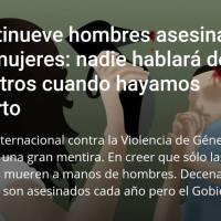 NADIE HABLARÁ DE NOSOTROS CUÁNDO HAYAMOS MUERTO