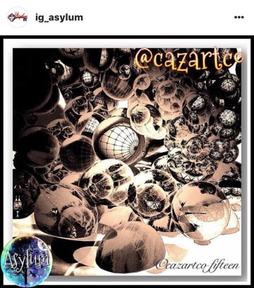 Cellular by cazartco featured by @ig_asylum