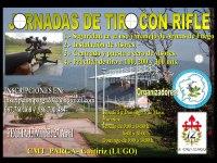 Jornadas de tiro con rifle en Guitiriz