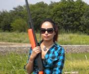 De verde a cazadora