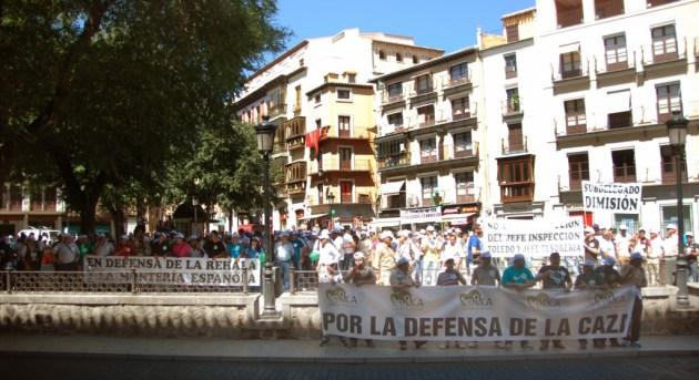 Manifestación de Toledo