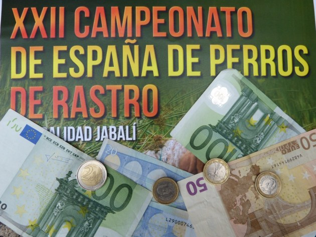 dinero campeonato rastro galicia jabalí