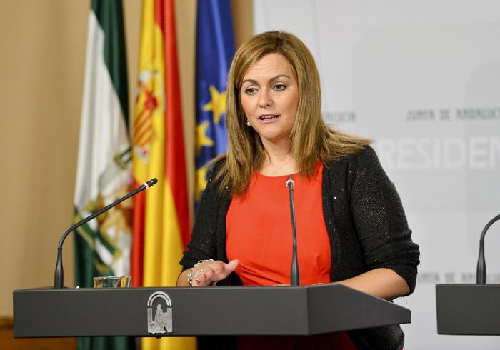La consejera de Medio Ambiente y Ordenación del Territorio de Andalucía María Jesús Serrano