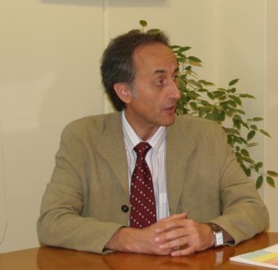 El director general de Montes y Espacios Naturales de Castilla-La Mancha Javier Gómez-Elvira