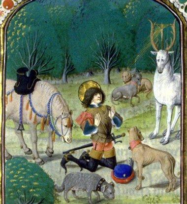 san Huberto de Lieja