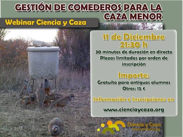 WEBINAR CYC COMEDEROS CAZA MENOR 11_12_2014