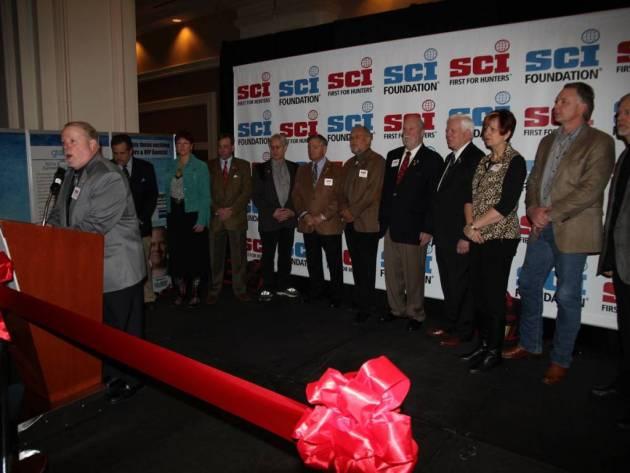 El Comité Ejecutivo del SCI  y el presidente electo del SCI, Larry Higgins.