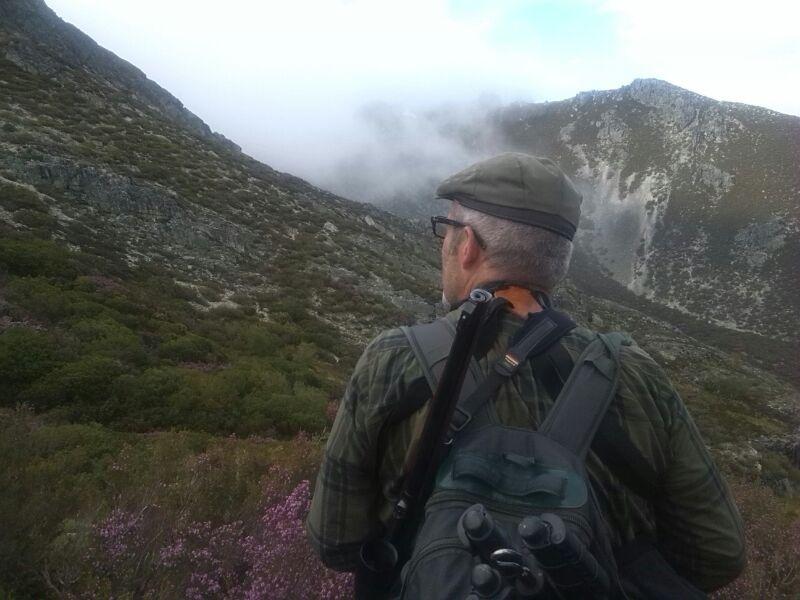 paisaje rececho cazador