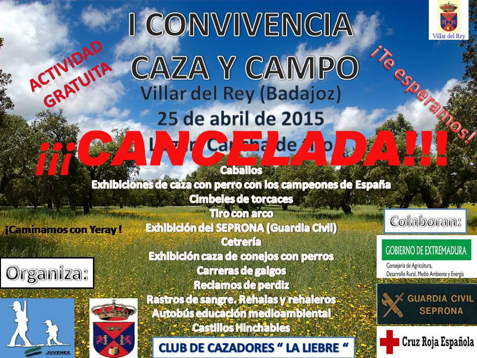 CARTEL VILLAR DEL REY CANDELADO