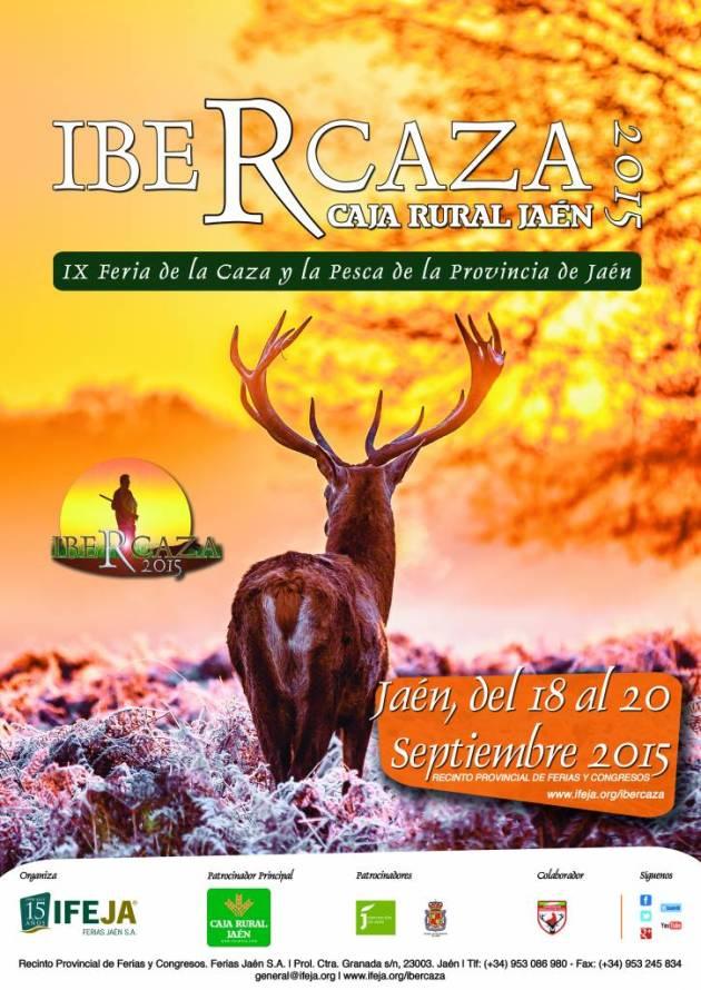 Cartel IberCaza 2015 (34x48 cm)