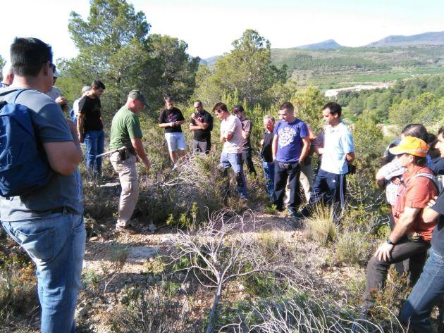 Prácticas del curso de Control de Predadores en Segorbe (1)